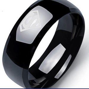 Other - SUPERMAN Titanium Mens Ring